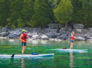 Stand Up Paddle Boarding - Coastlines of the Bruce Peninsula