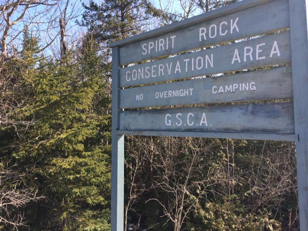 Spirit Rock Conservation Area