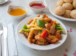 Variety of Chinese Food