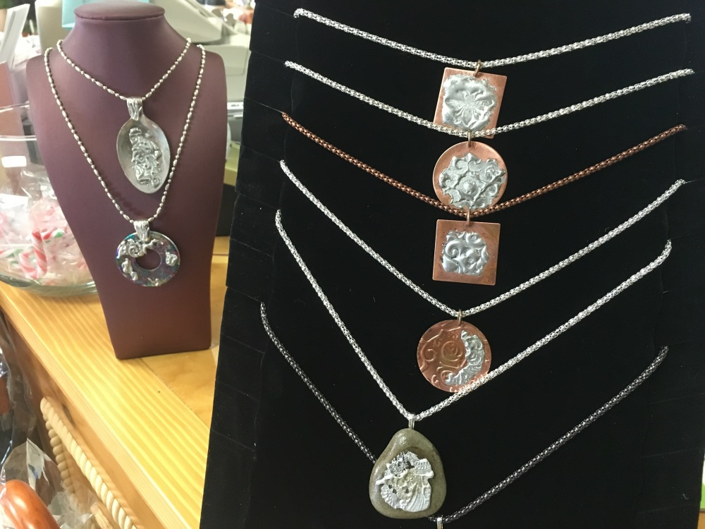 Hand made copper jewellery
