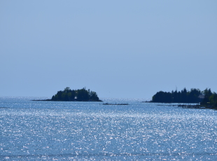The View From Our Office! Rowdy Island, The Fishing Islands