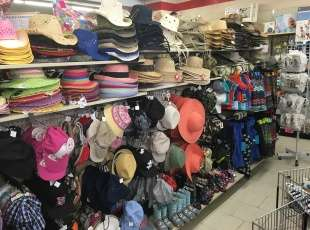 The areas biggest selection of hats