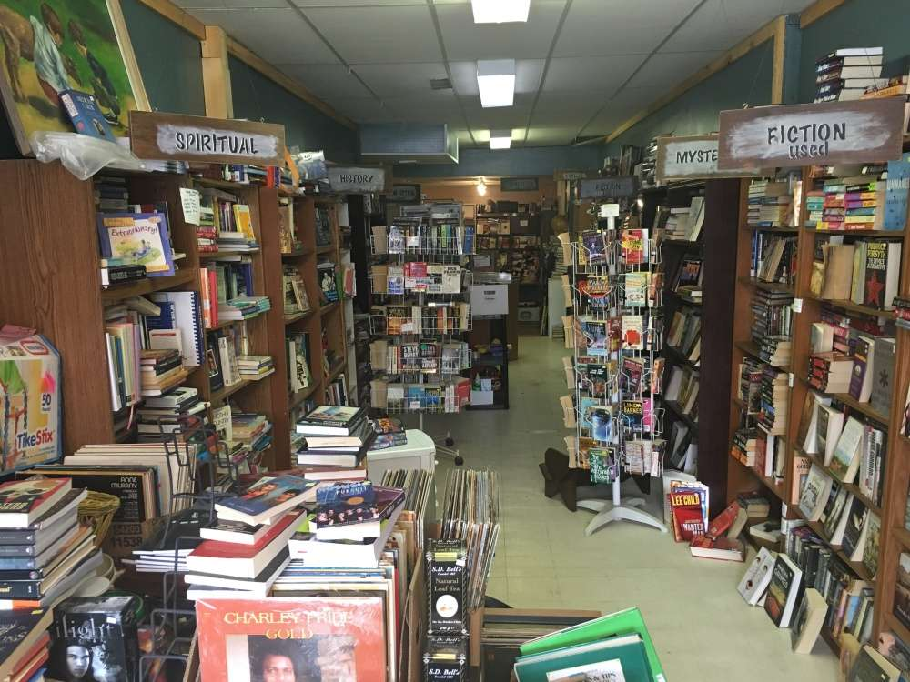 A whole store of books
