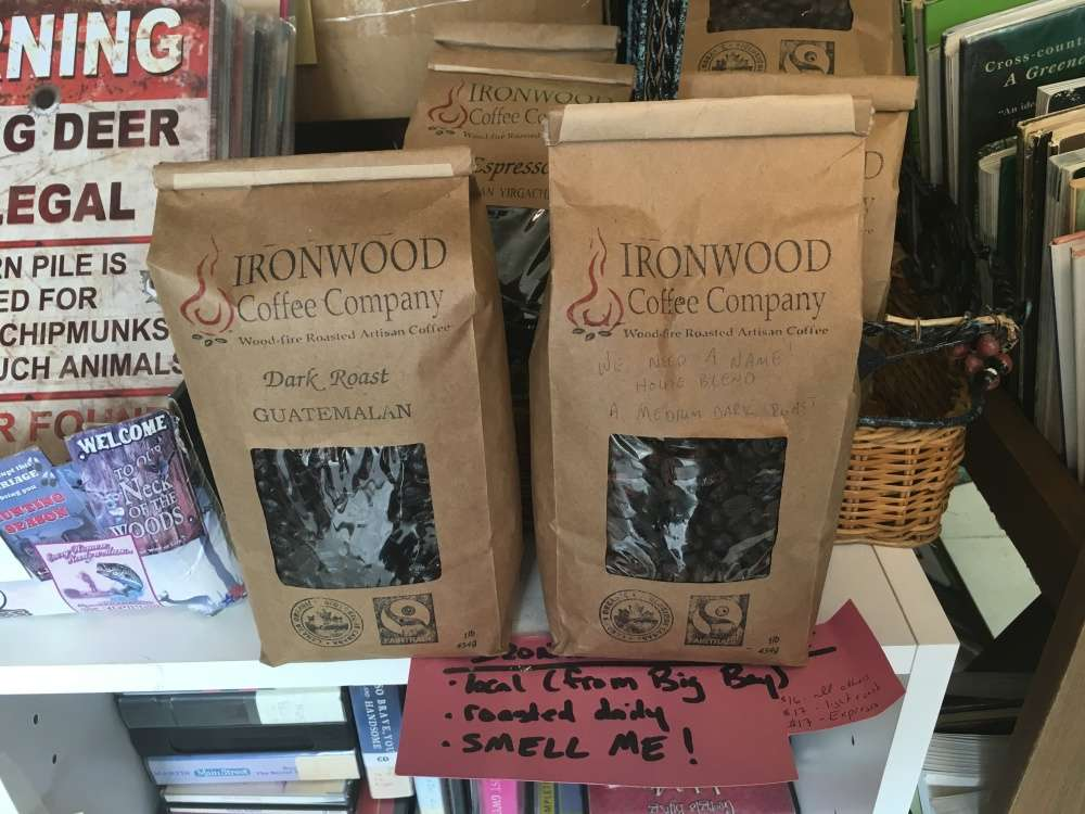 Fresh local roasted coffee - Ironwood